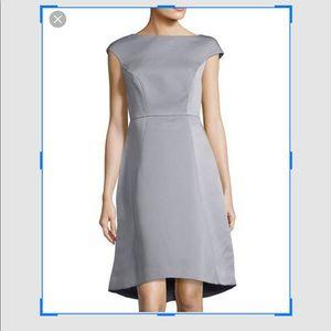 Blue halston heritage cocktail dress.  New Size 6